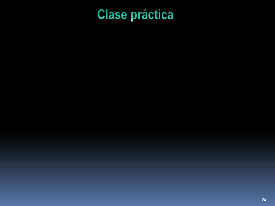 Clase práctica
