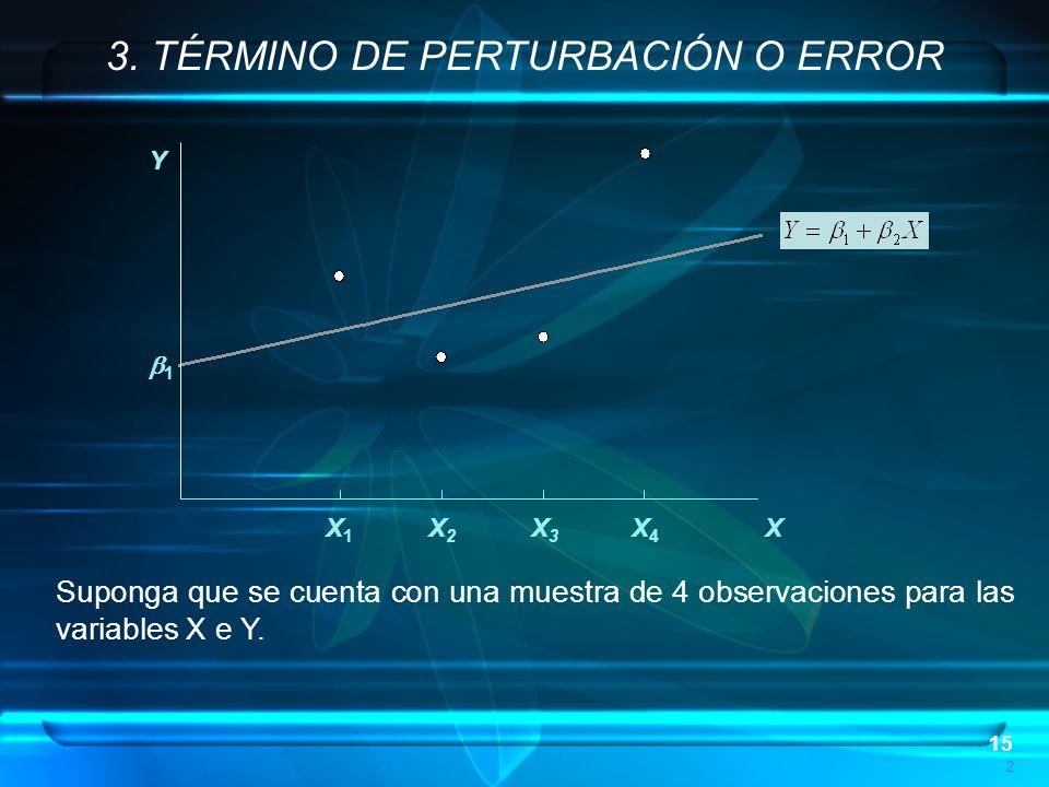 3. TÉRMINO DE PERTURBACIÓN O ERROR
