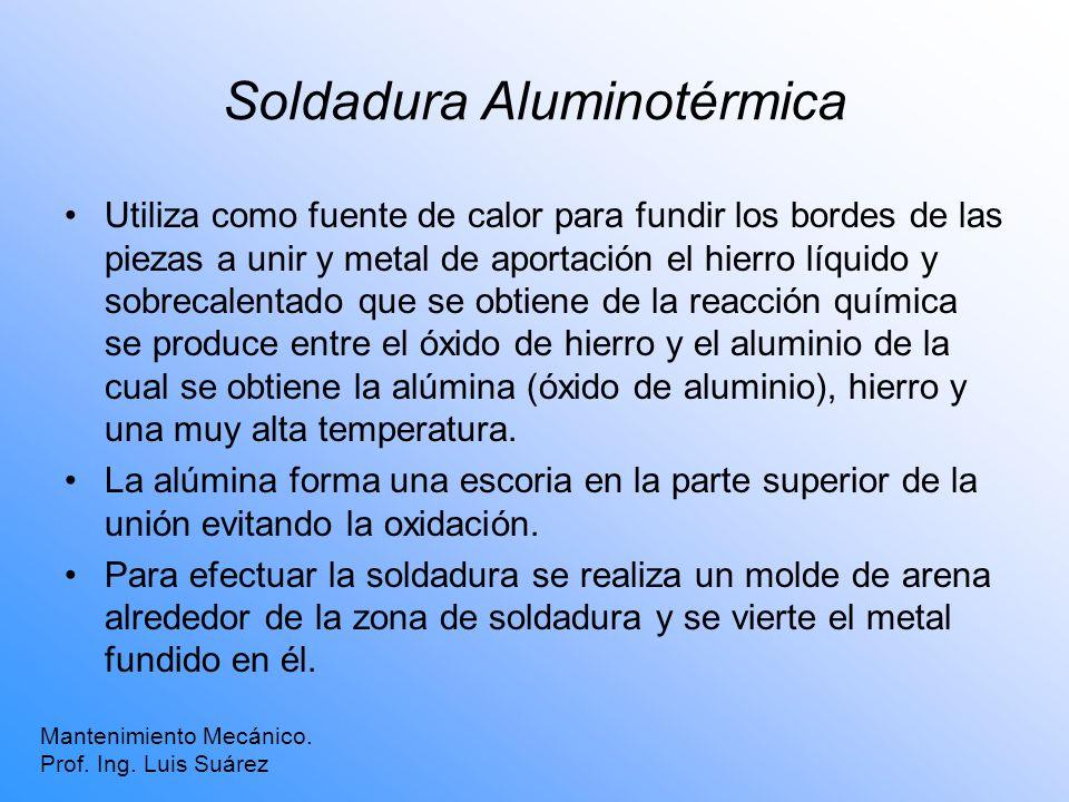 Soldadura Aluminotérmica