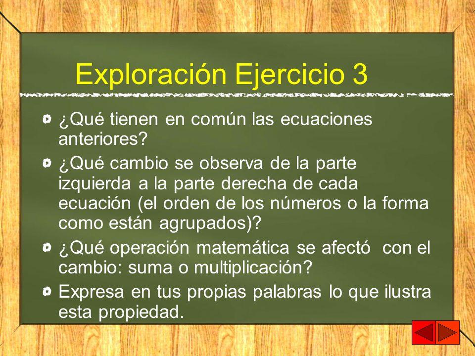 Exploración Ejercicio 3