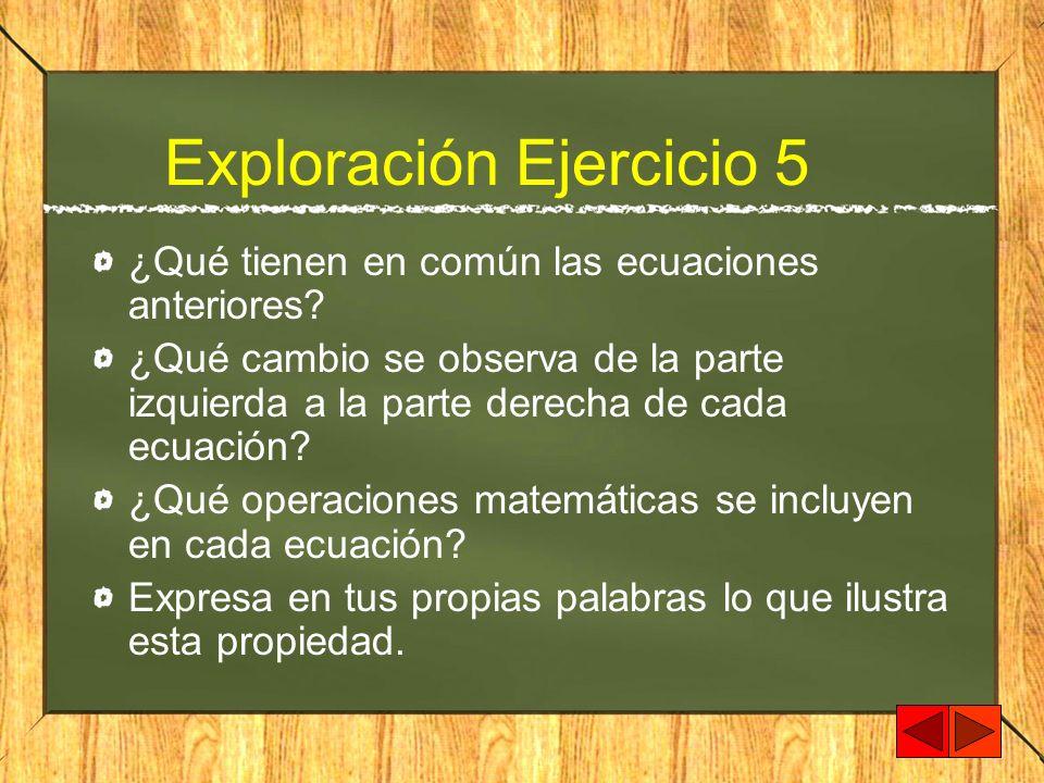 Exploración Ejercicio 5