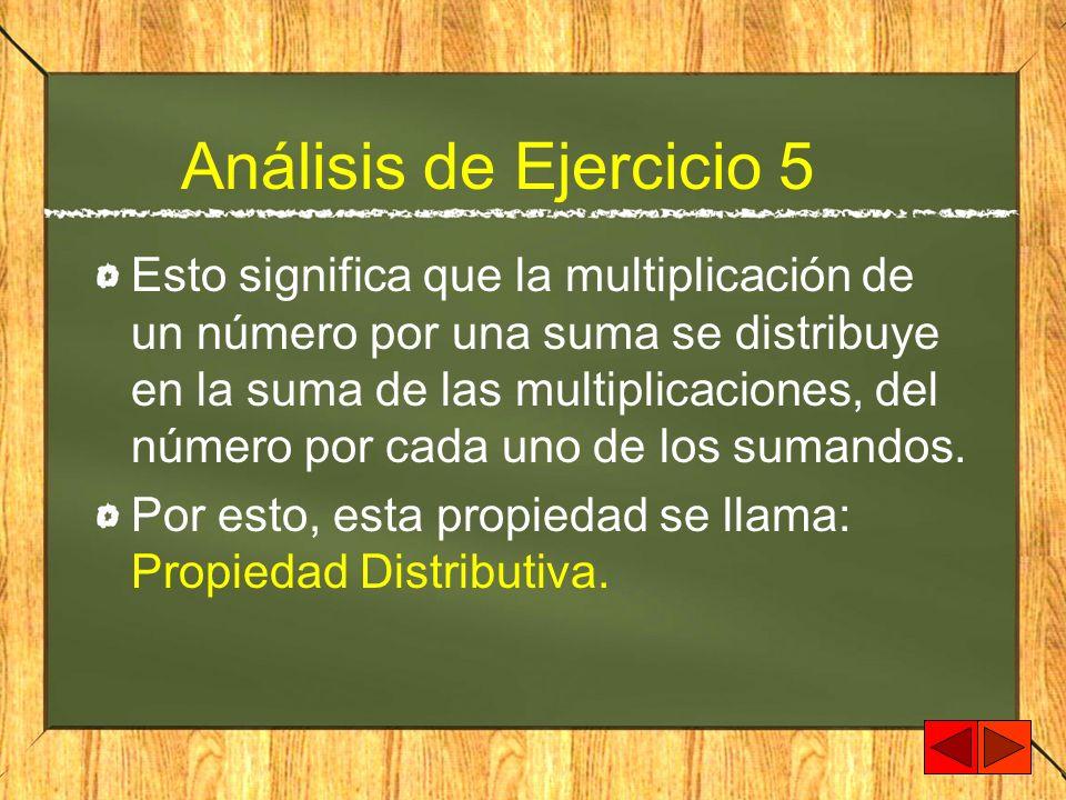 Análisis de Ejercicio 5