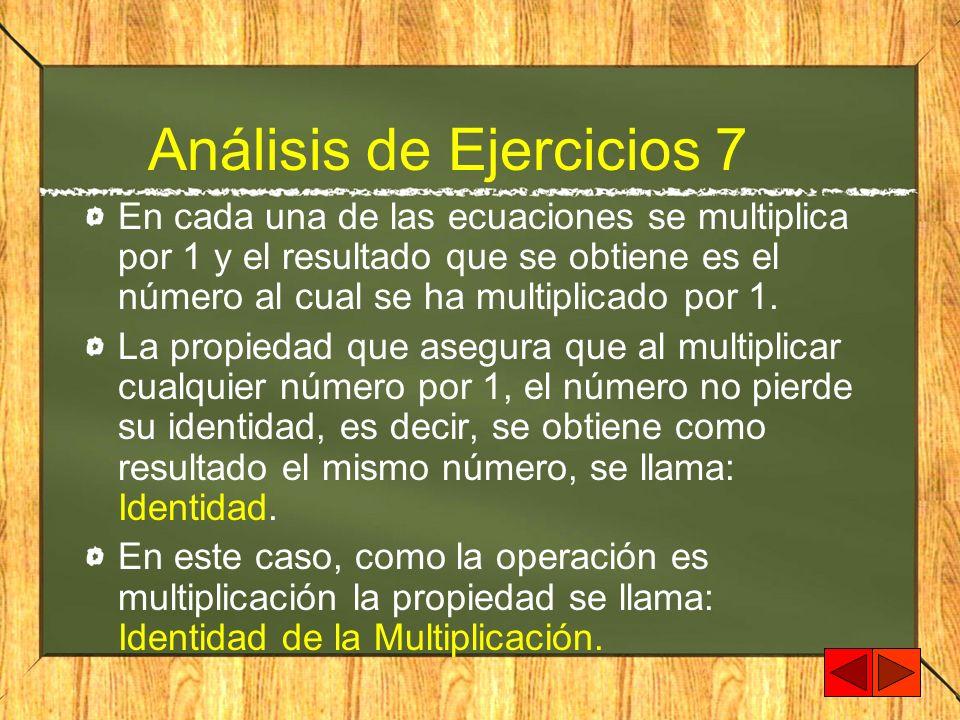 Análisis de Ejercicios 7
