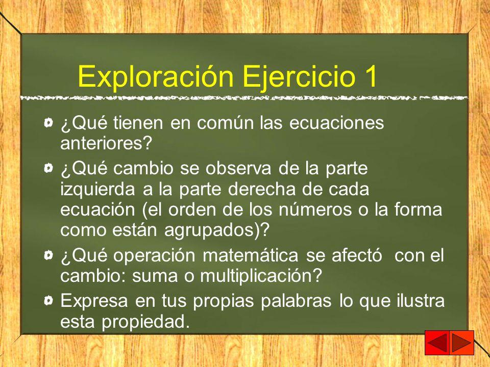 Exploración Ejercicio 1