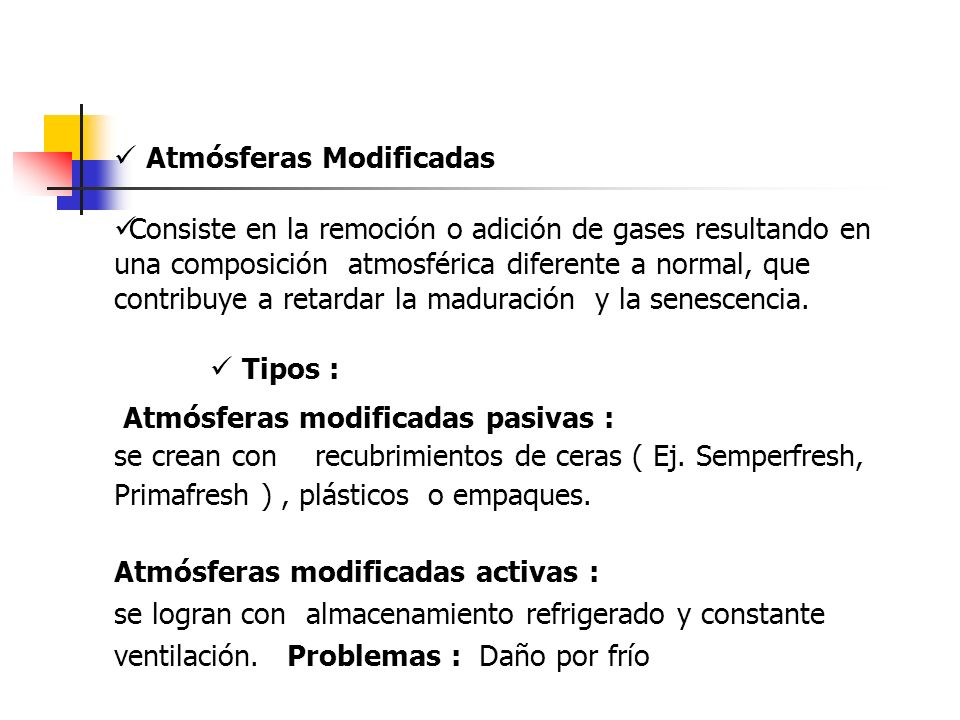  Atmósferas Modificadas