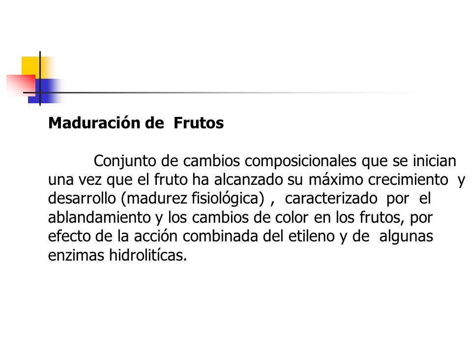 Maduración de Frutos