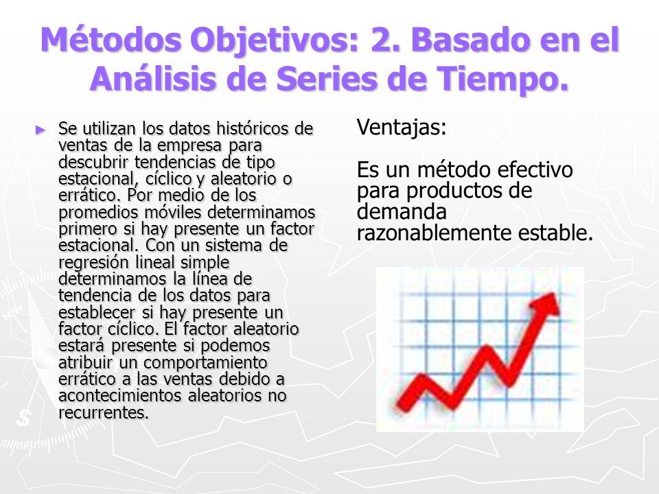 Métodos Objetivos: 2. Basado en el Análisis de Series de Tiempo.