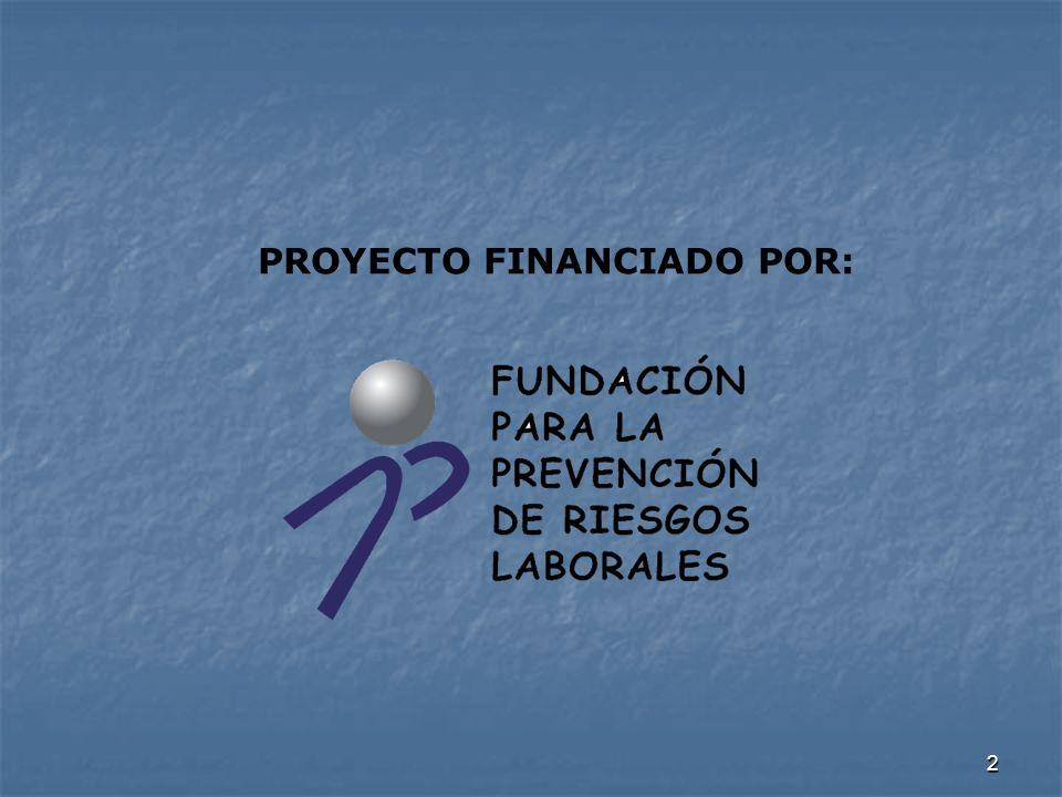 PROYECTO FINANCIADO POR: