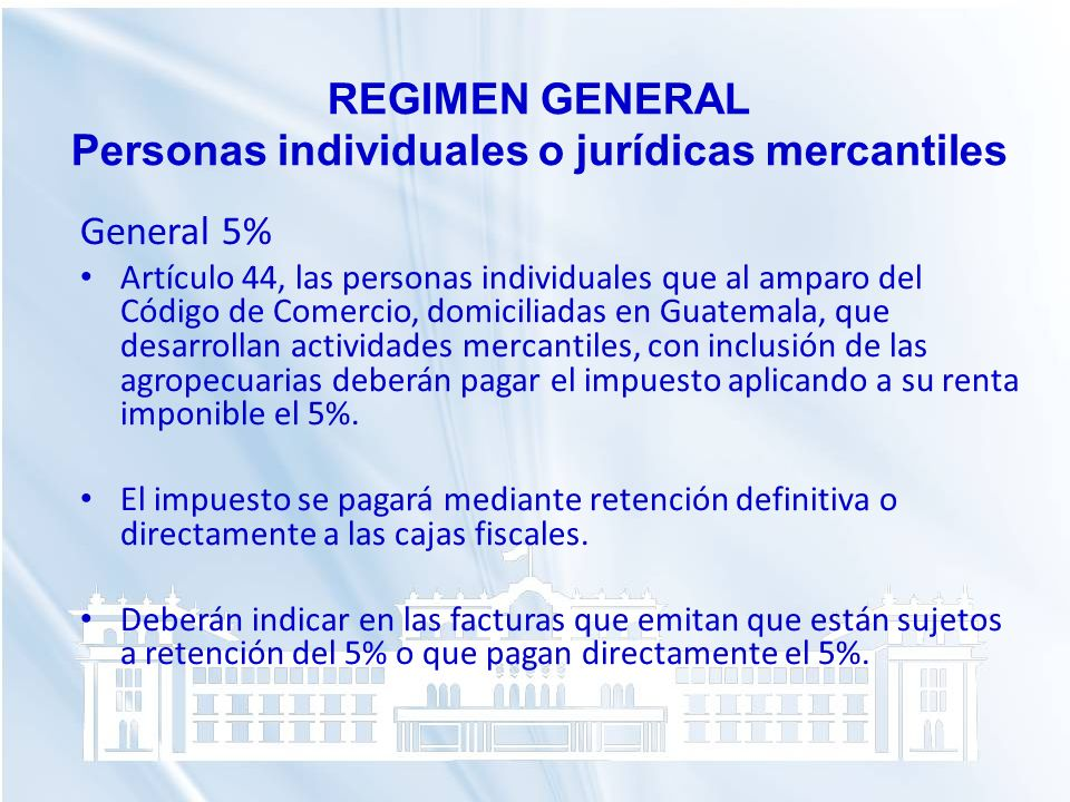 Personas individuales o jurídicas mercantiles