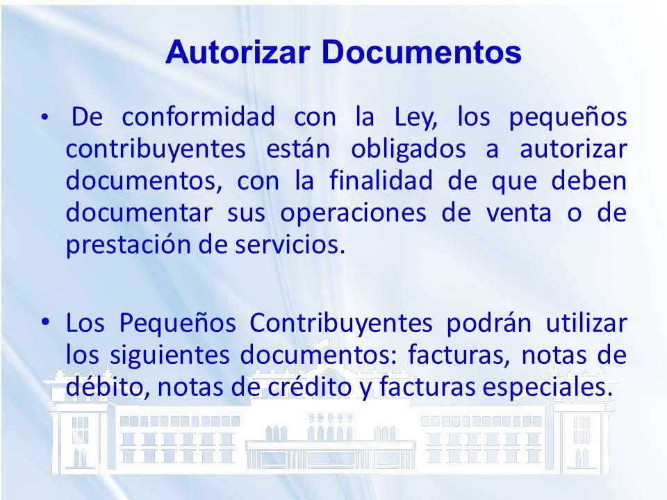 Autorizar Documentos