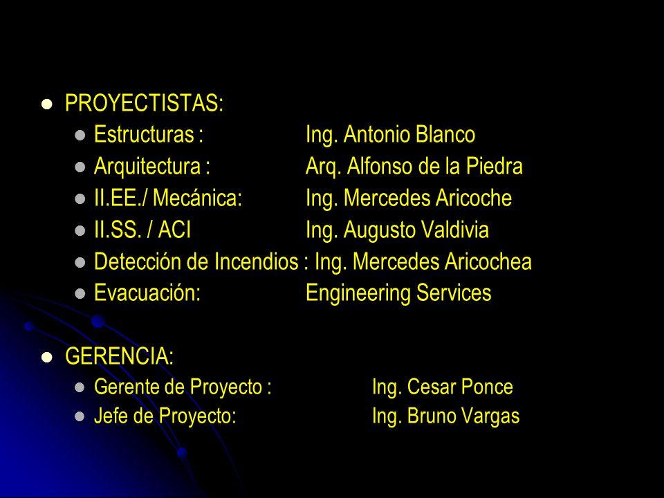 Estructuras : Ing. Antonio Blanco