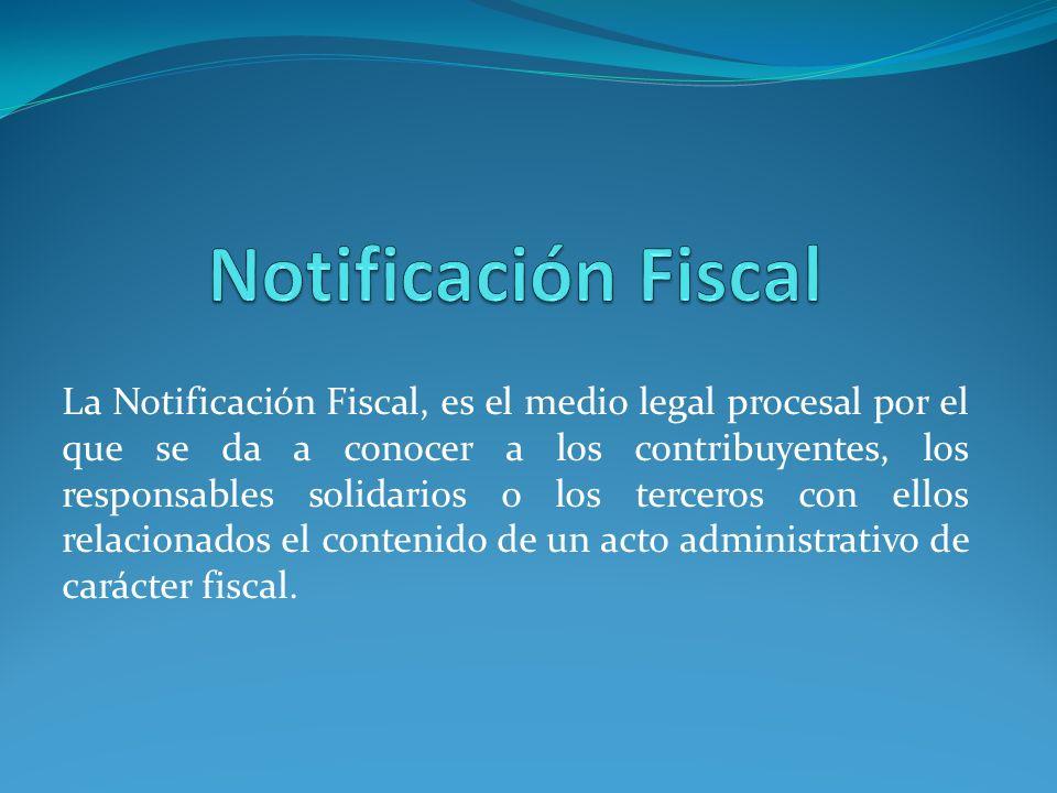 Notificación Fiscal