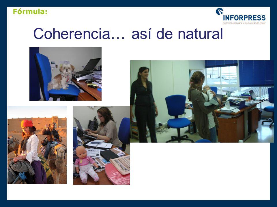Coherencia… así de natural