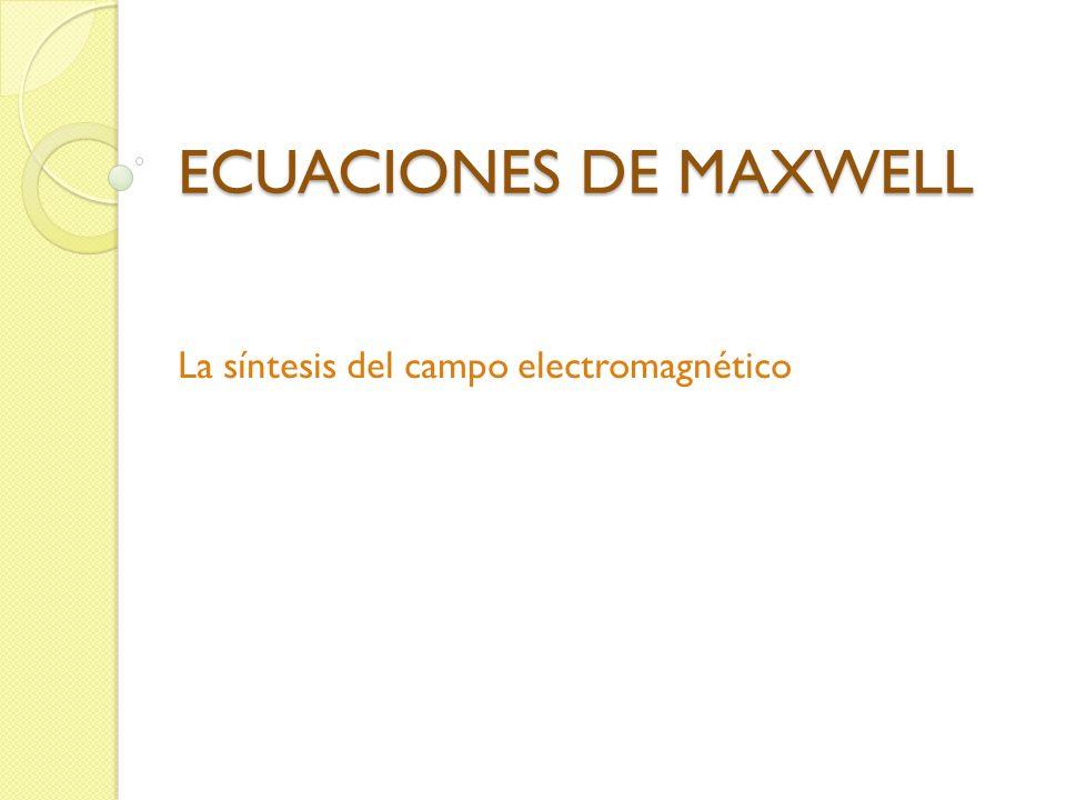 La síntesis del campo electromagnético