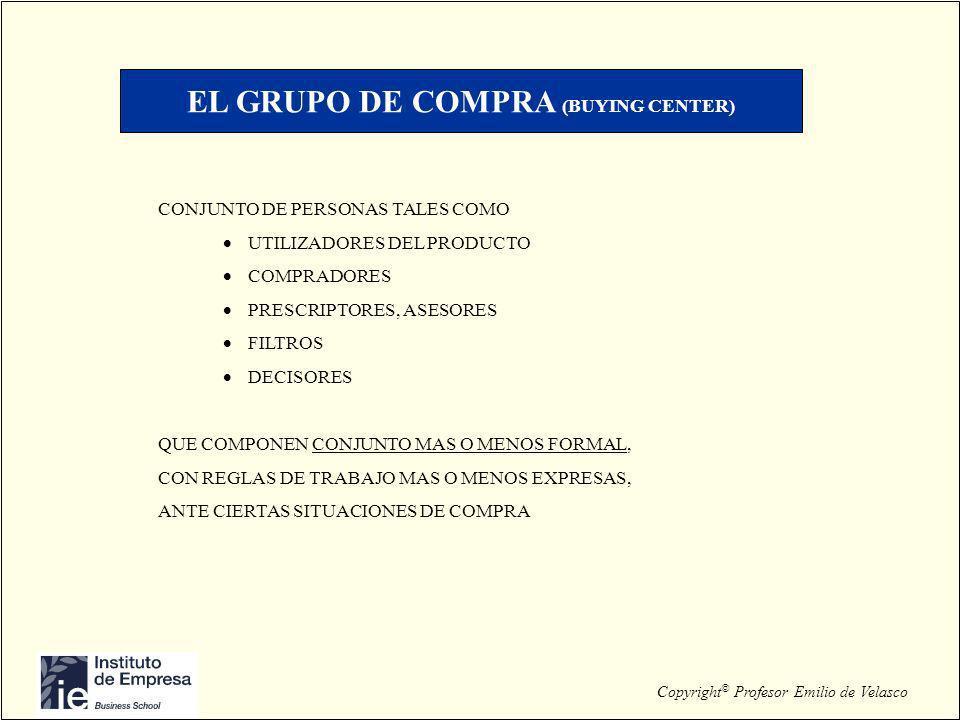 EL GRUPO DE COMPRA (BUYING CENTER)