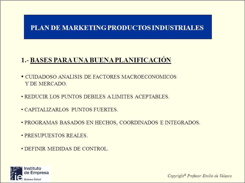 PLAN DE MARKETING PRODUCTOS INDUSTRIALES