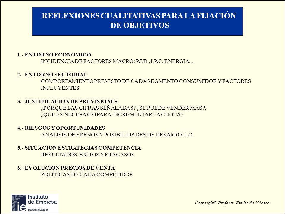 REFLEXIONES CUALITATIVAS PARA LA FIJACIÓN