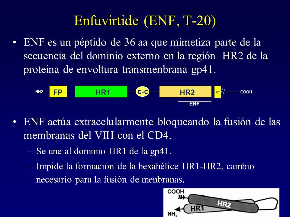 Enfuvirtide (ENF, T-20)