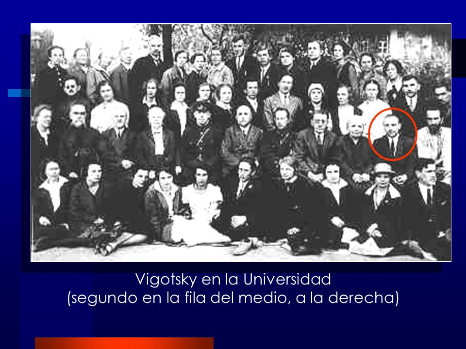 Vigotsky en la Universidad