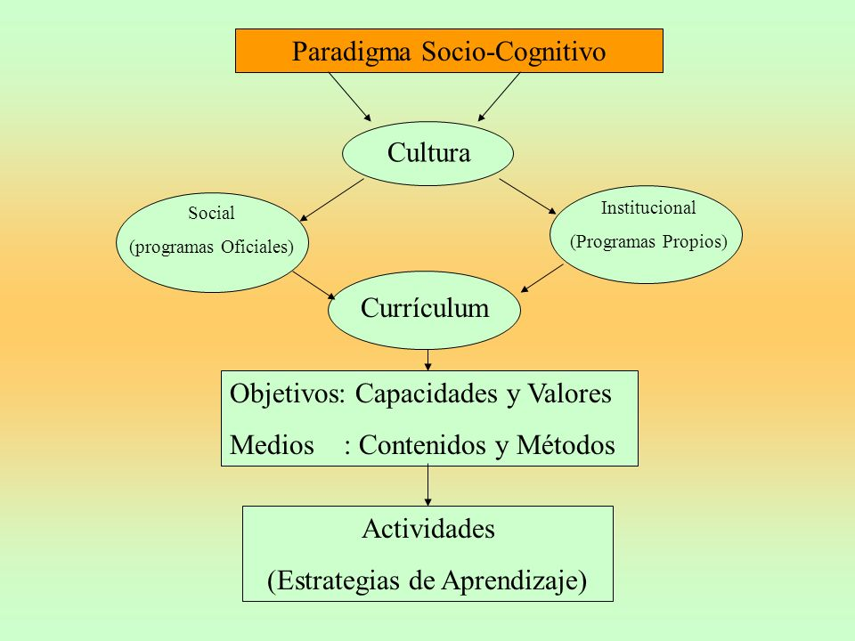 Paradigma Socio-Cognitivo