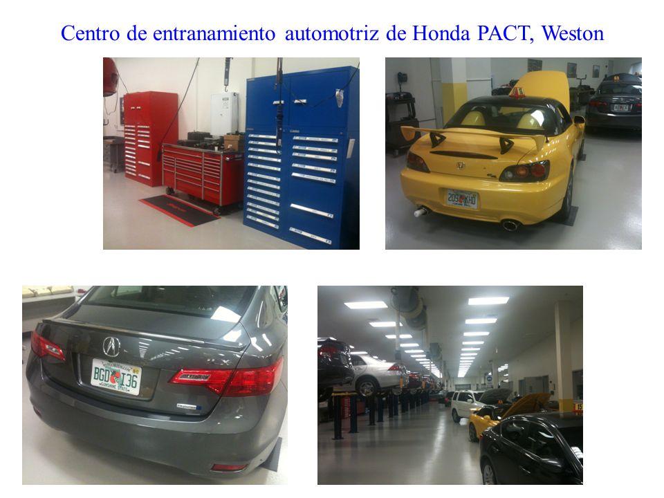 Centro de entranamiento automotriz de Honda PACT, Weston