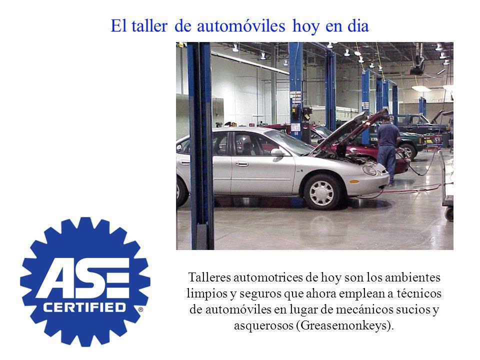 El taller de automóviles hoy en dia