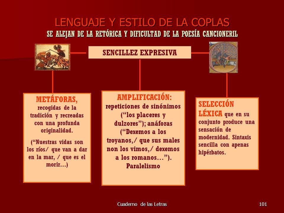 LENGUAJE Y ESTILO DE LA COPLAS SE ALEJAN DE LA RETÓRICA Y DIFICULTAD DE LA POESÍA CANCIONERIL