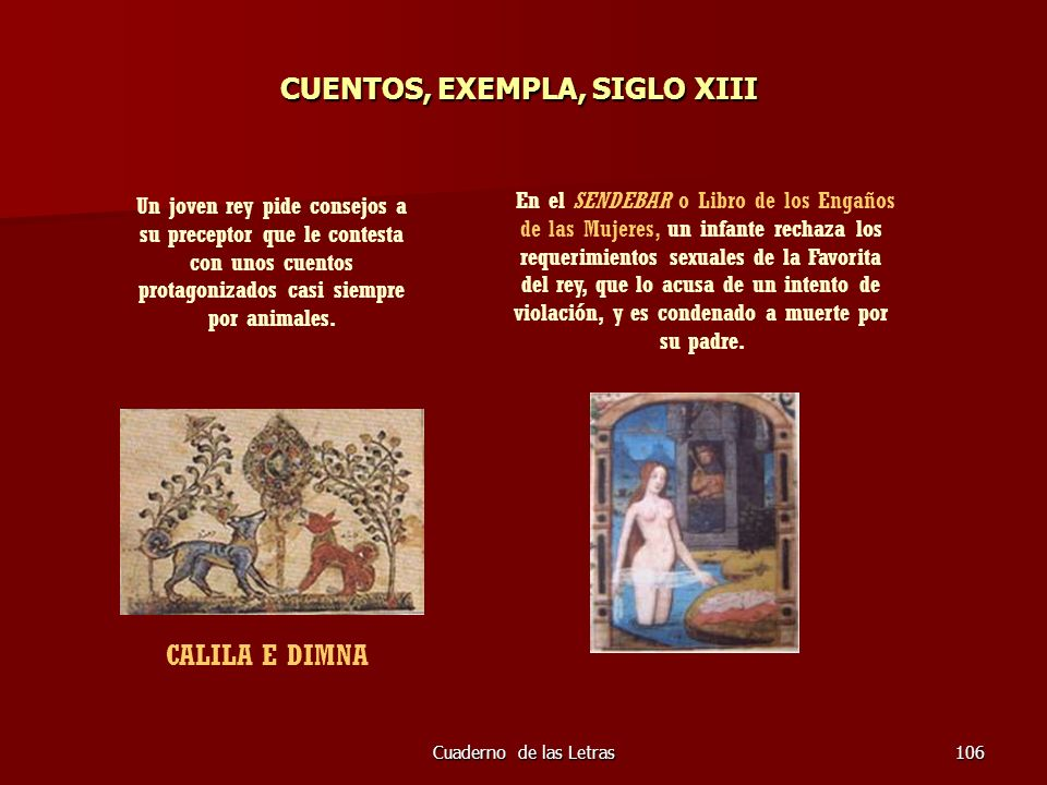 CUENTOS, EXEMPLA, SIGLO XIII