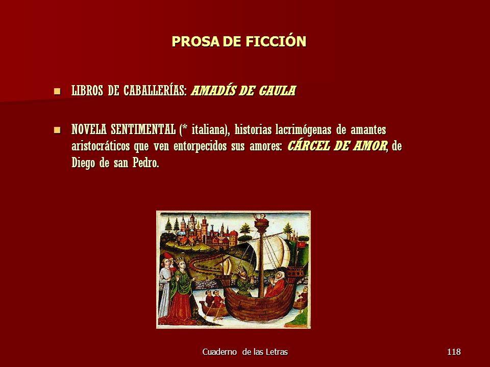 LIBROS DE CABALLERÍAS: AMADÍS DE GAULA