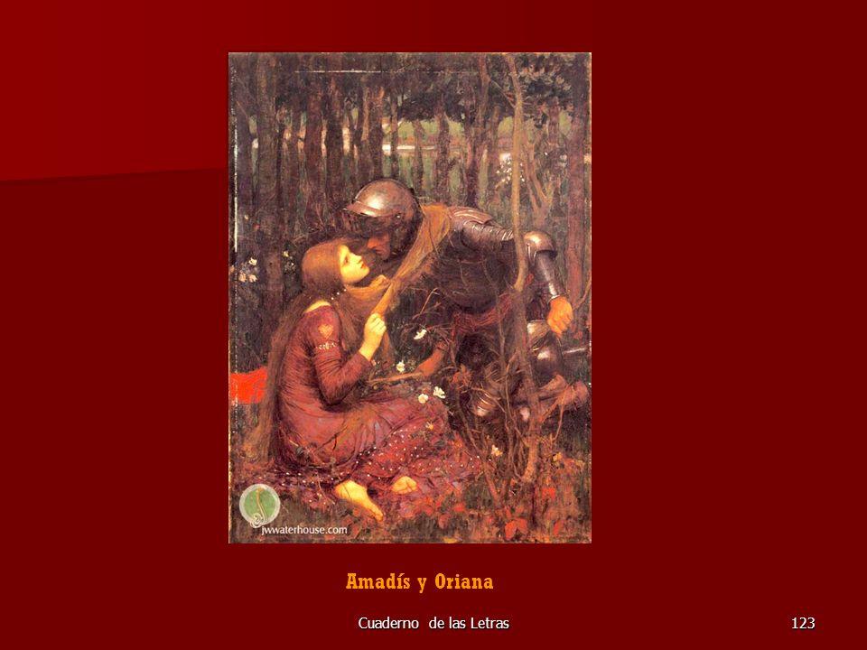 Amadís y Oriana Cuaderno de las Letras