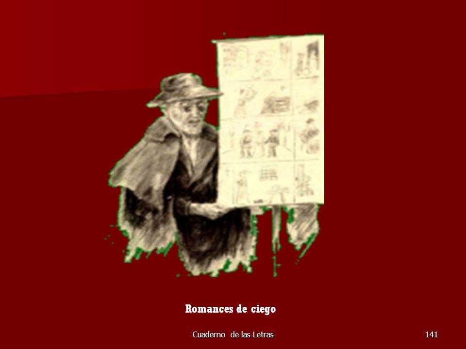 Romances de ciego Cuaderno de las Letras
