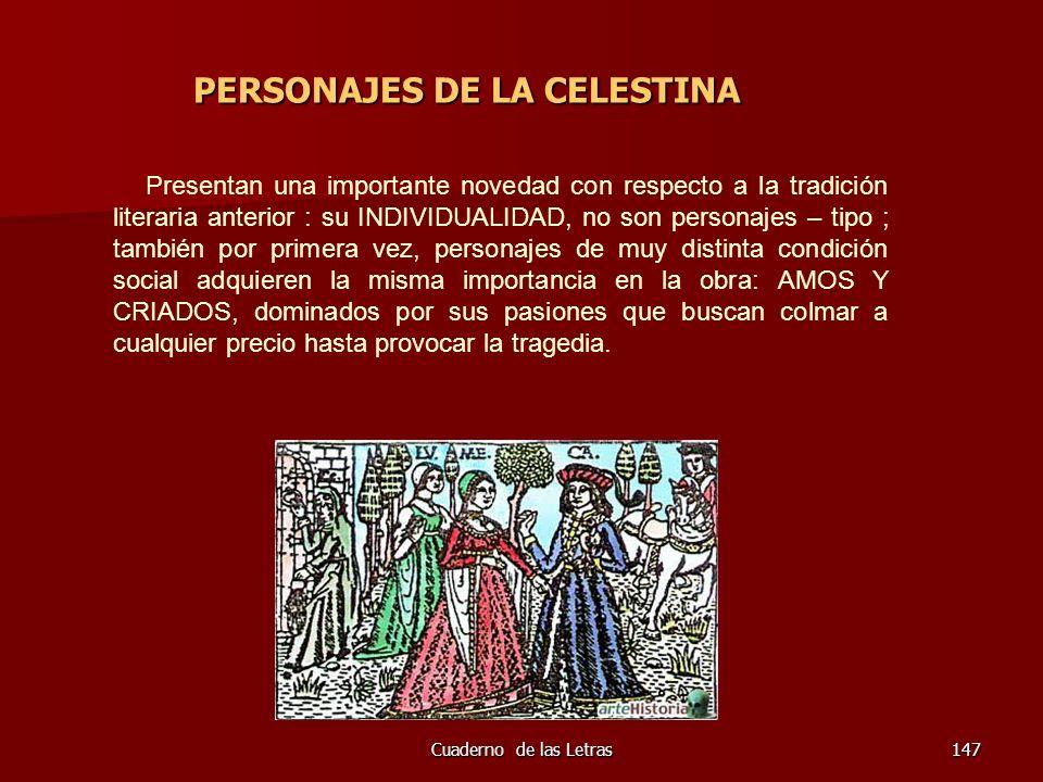 PERSONAJES DE LA CELESTINA