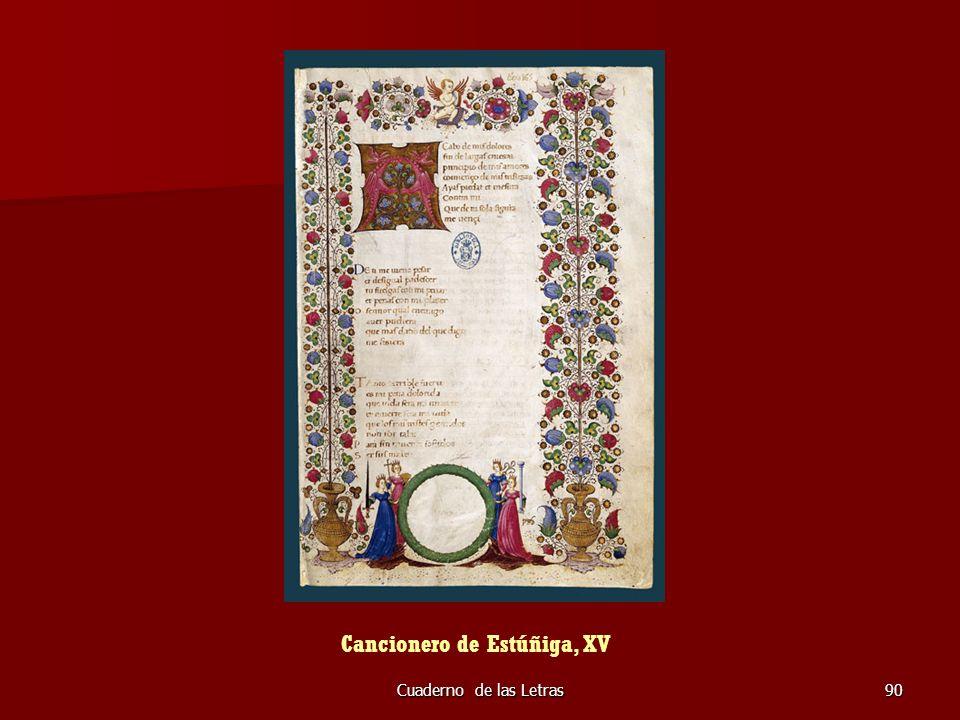Cancionero de Estúñiga, XV
