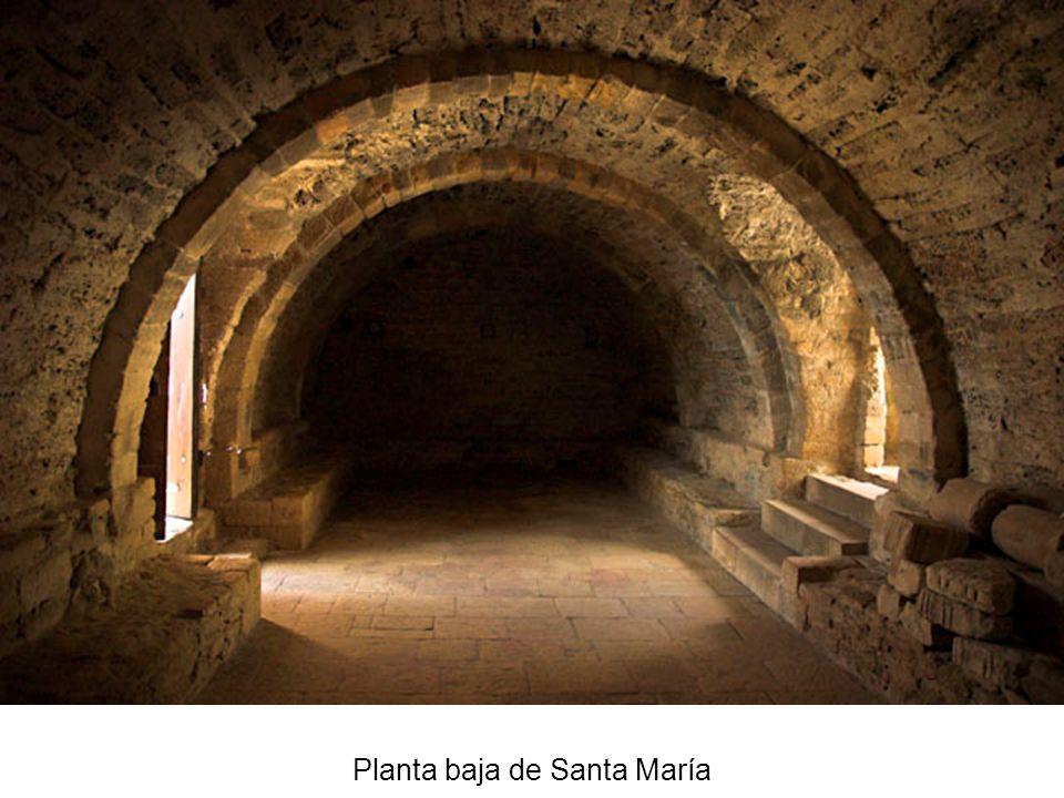 Planta baja de Santa María