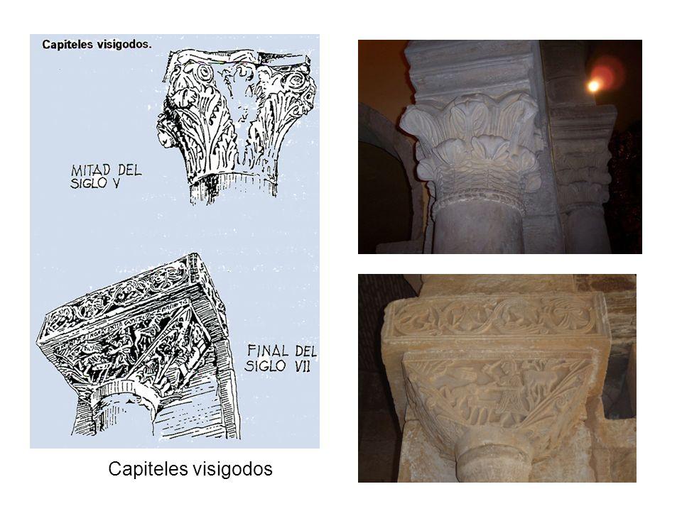 Capiteles visigodos