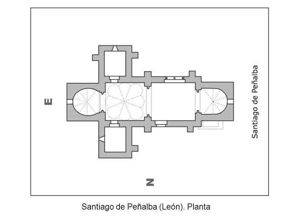 Santiago de Peñalba (León). Planta