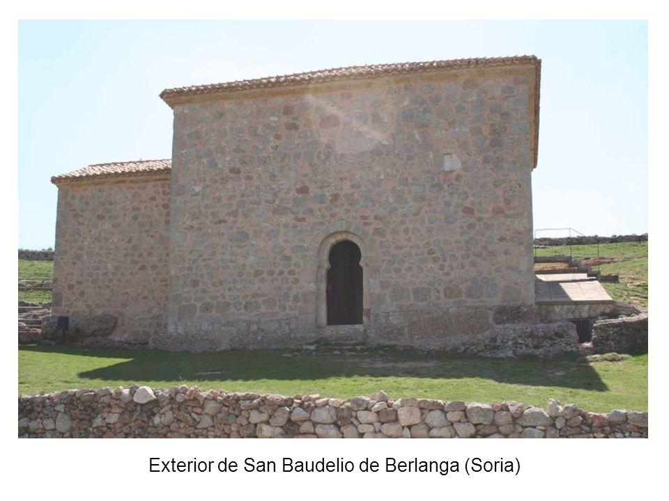 Exterior de San Baudelio de Berlanga (Soria)