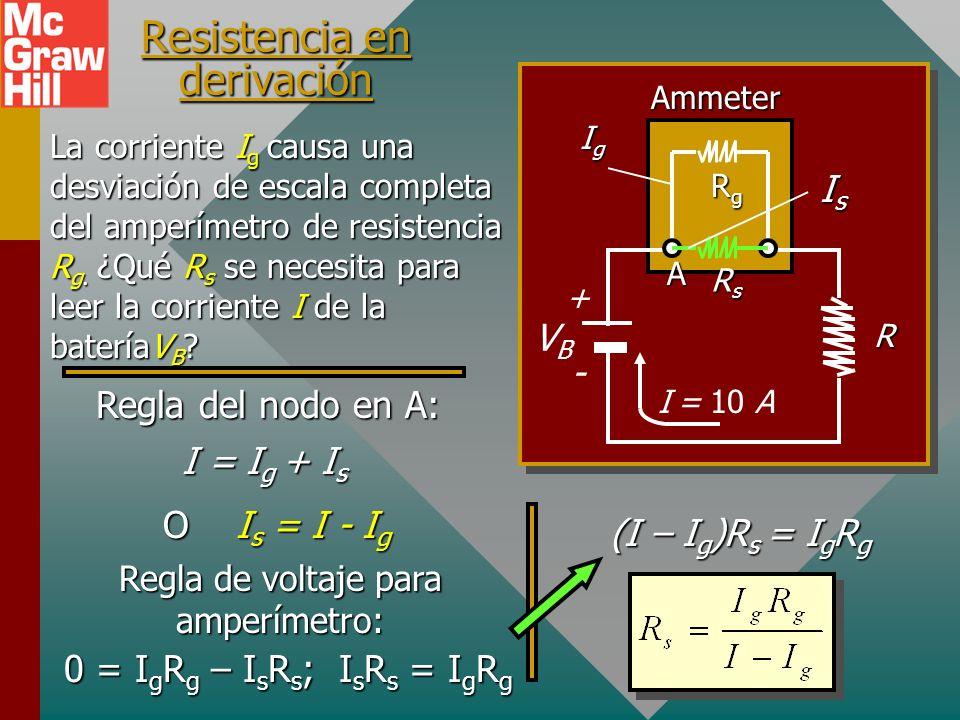 Resistencia en derivación