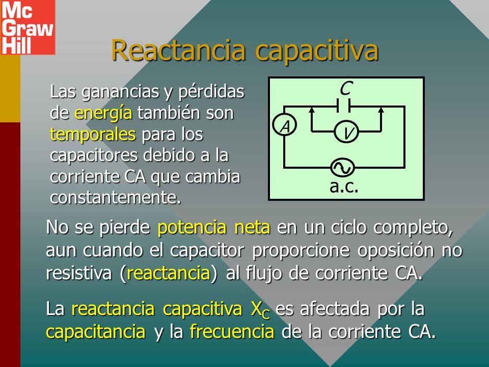 Reactancia capacitiva