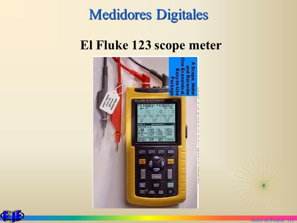 Medidores Digitales El Fluke 123 scope meter