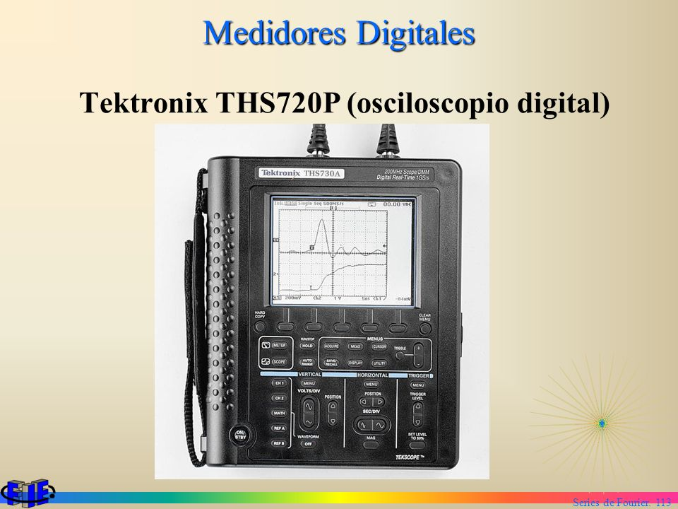 Tektronix THS720P (osciloscopio digital)