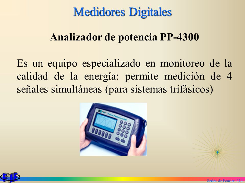 Analizador de potencia PP-4300