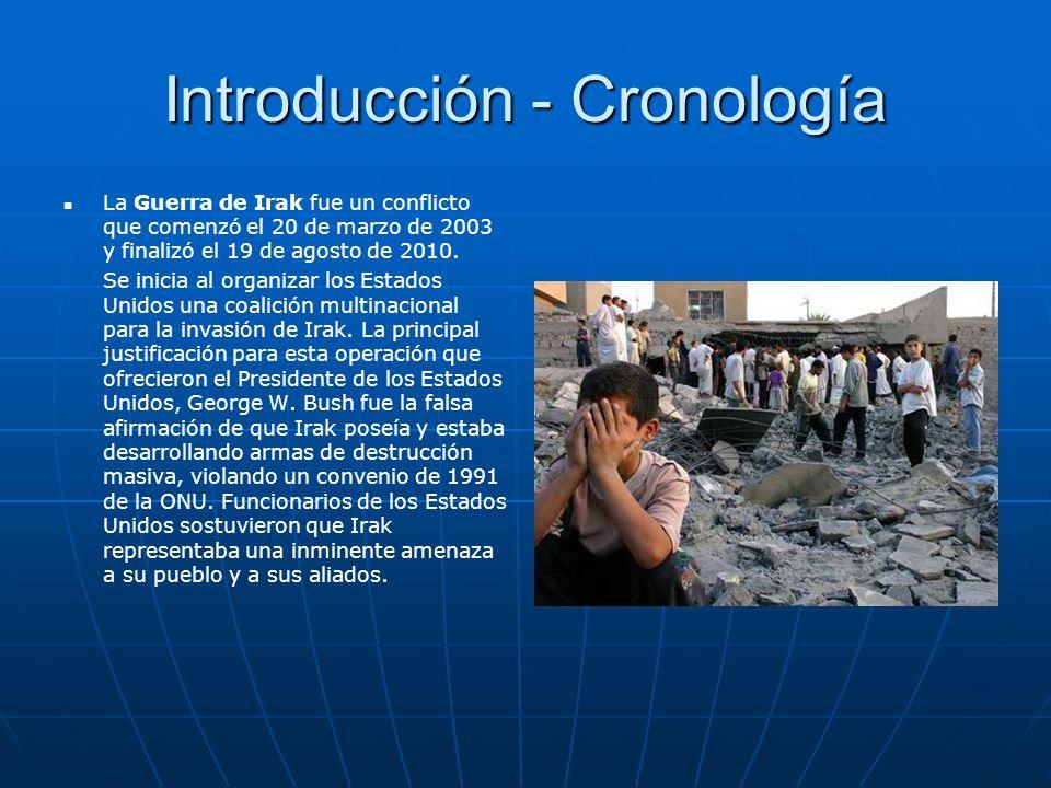 Introducción - Cronología