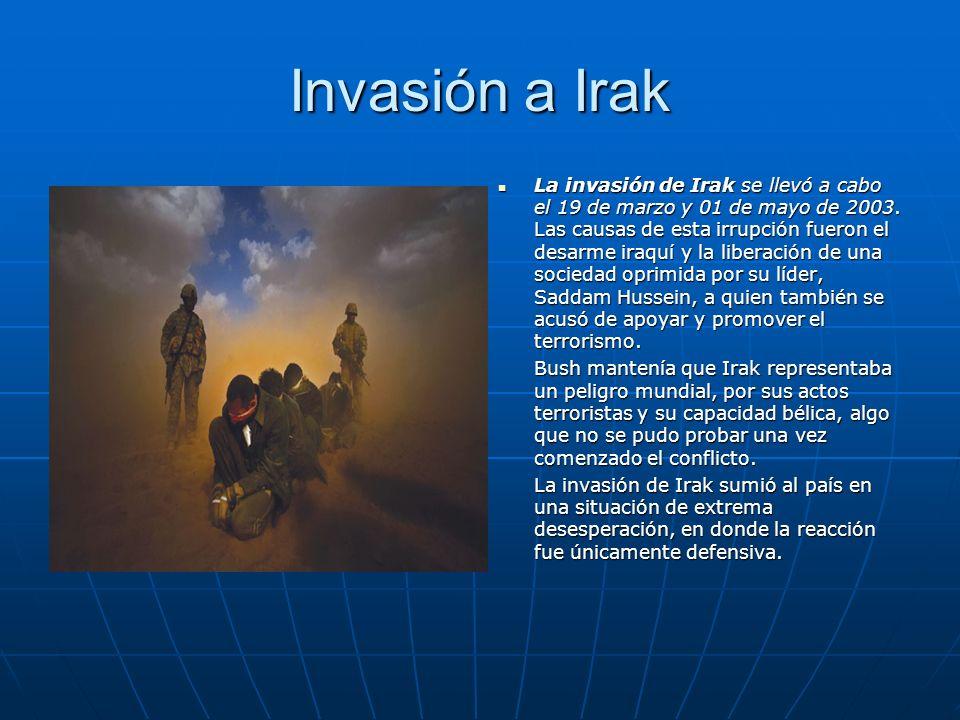 Invasión a Irak