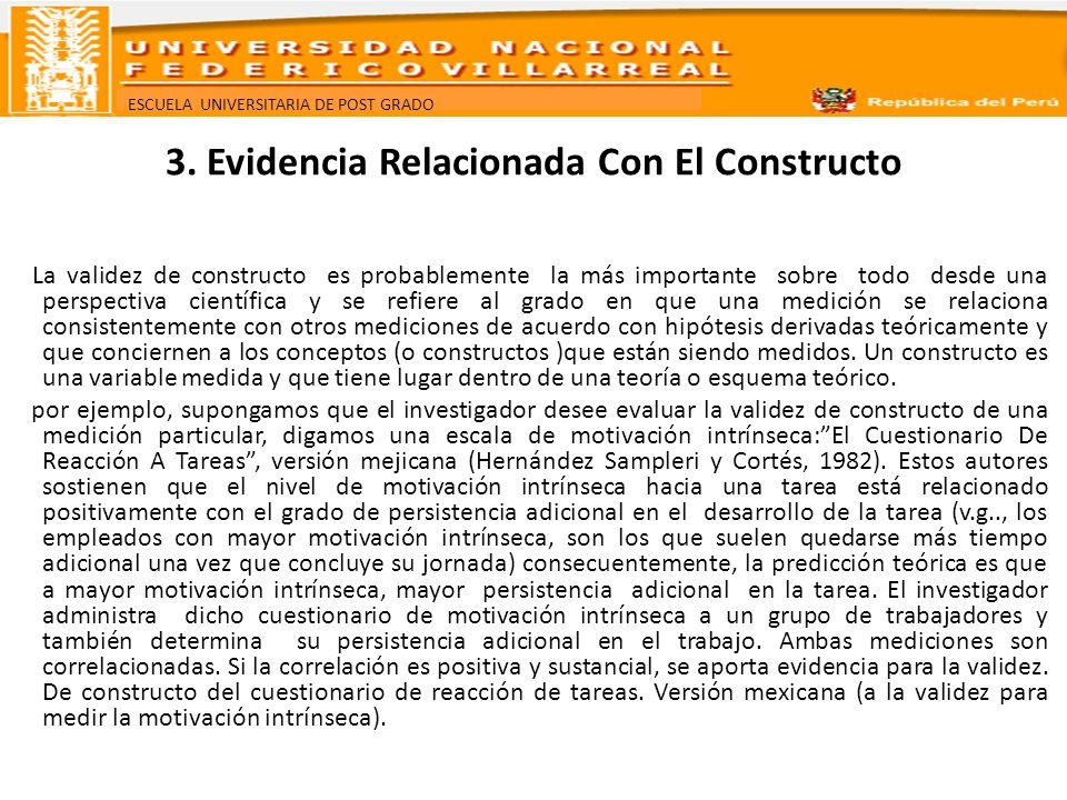 3. Evidencia Relacionada Con El Constructo