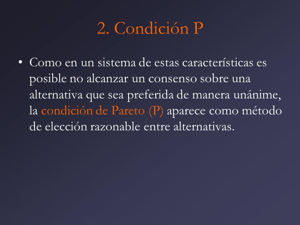 2. Condición P