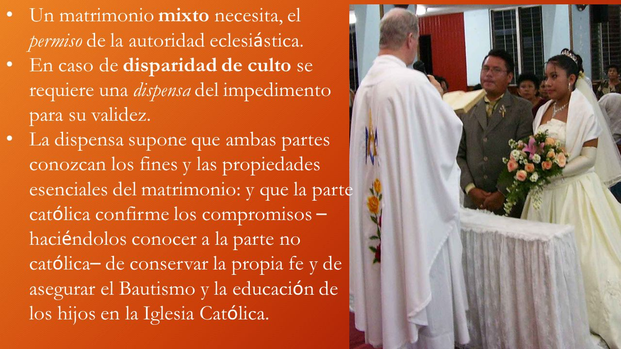 Matrimonio Catolico Por Disparidad De Culto : Sacramentos iniciaciÓn sanaciÓn opciÓn bautismo