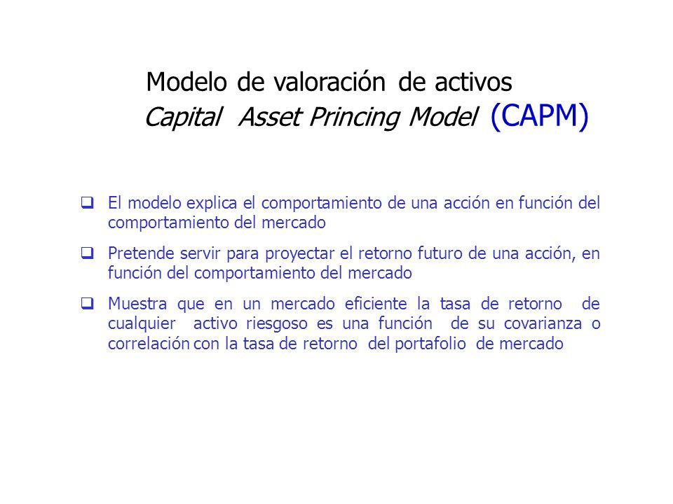 Capital Asset Princing Model (CAPM)