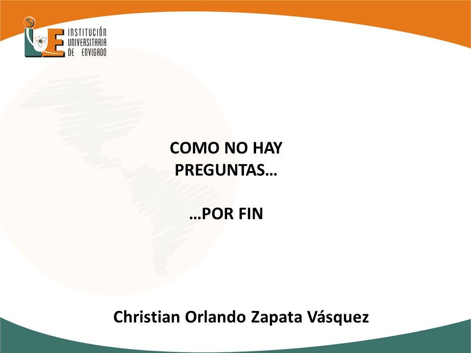 Christian Orlando Zapata Vásquez