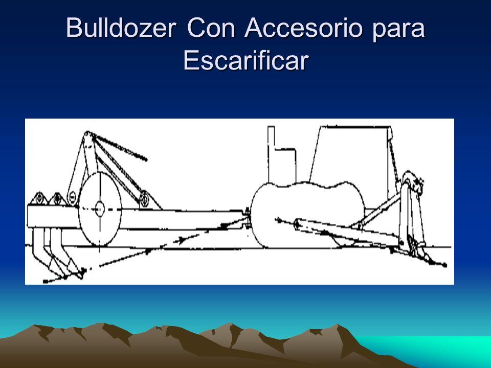 Bulldozer Con Accesorio para Escarificar